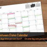 Days Between Dates Time Between Dates Calculator Days Left To Retirement Calendar