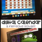 Digital Calendar Powerpoint Presentation Calendar Math Calendar Math Smart Exchange