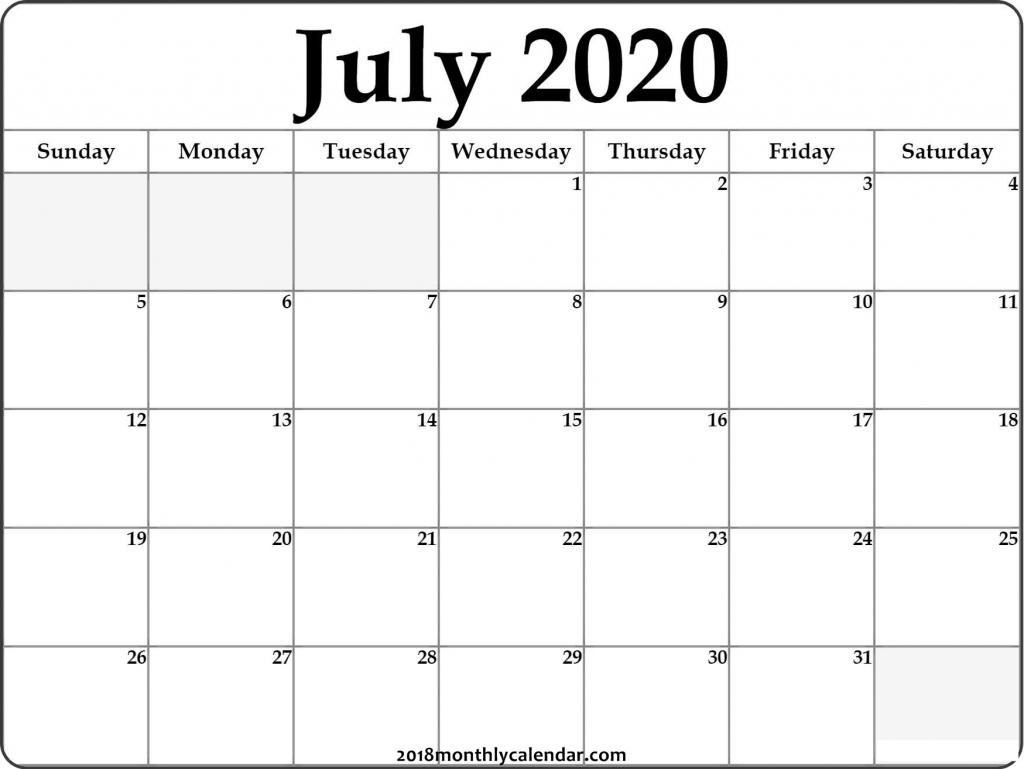 download july 2020 printable calendar 2020 printable calendar by month