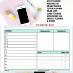 Download Your Free Printables For School School Planner Printable Six Week Class Guide