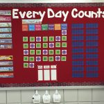 Every Day Counts Calendar Math First Grade Added A White Calendar That Counts The Days
