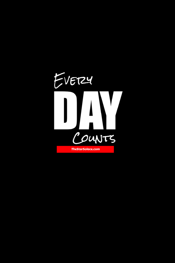 every day counts motivation inspiration star solace everday counts