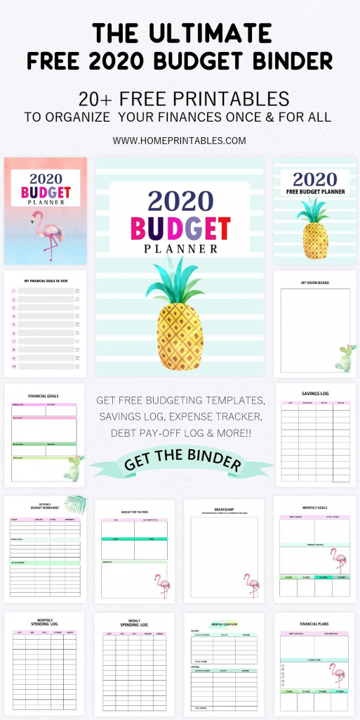free printable budget binder for 2020 save more budget budget binder free printables 2020