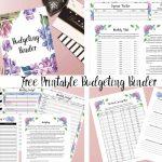 Free Printable Budgeting Binder 15 Pages Budget Binder Free Printables 2020