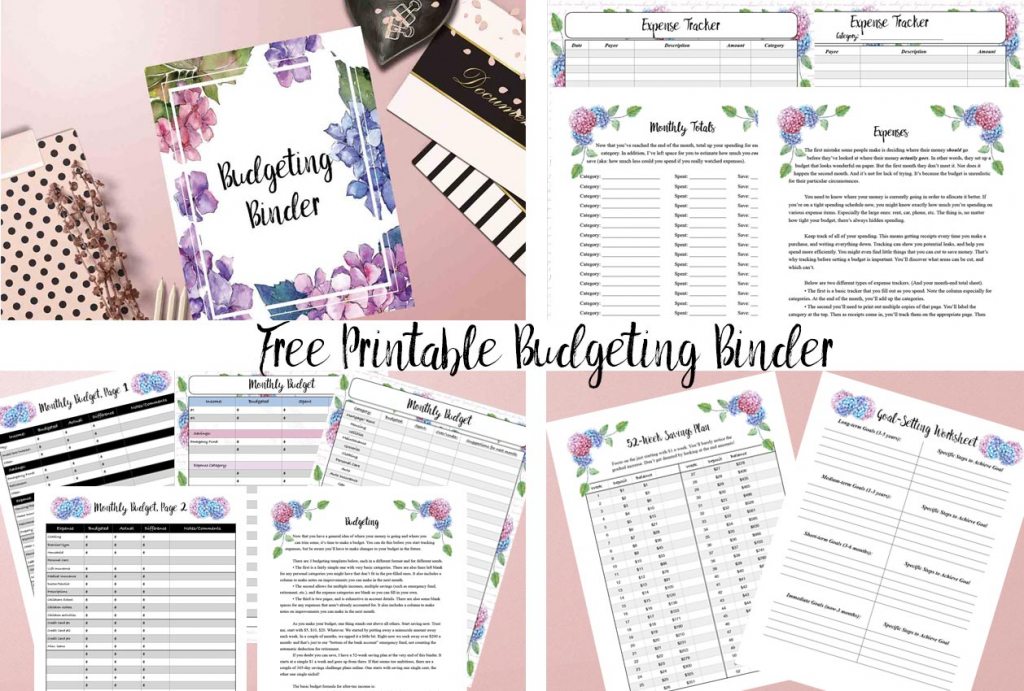 free printable budgeting binder 15 pages budget binder free printables 2020