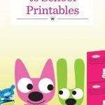 Hoops And Yoyo Free Back To School Printables Hallmark Hoops And Yoyo Calendar