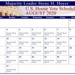 House Press Gallery Us House Of Representatives House Of Rep Calendar 2020