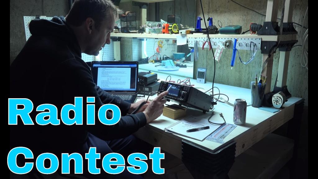 icom 7300 ham radio contest mo qso party ic 7300 video 1 of 3 ham radio contest