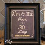 Im Outta Herecountdown To Retirementfree Printable Retirement Countdown Picture