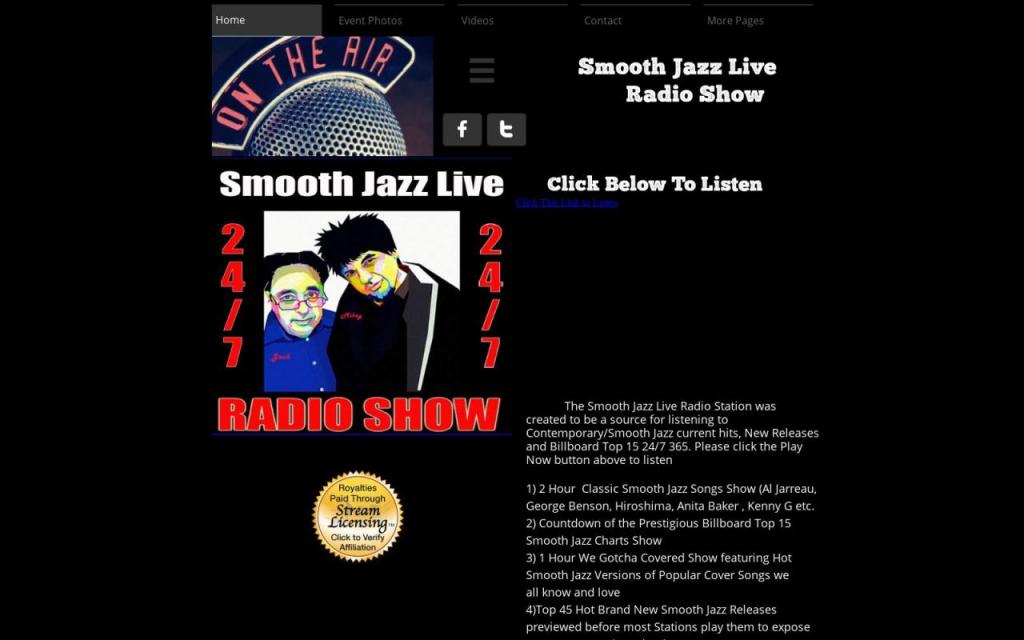 jazz club calendars spaghettini jazz calendar