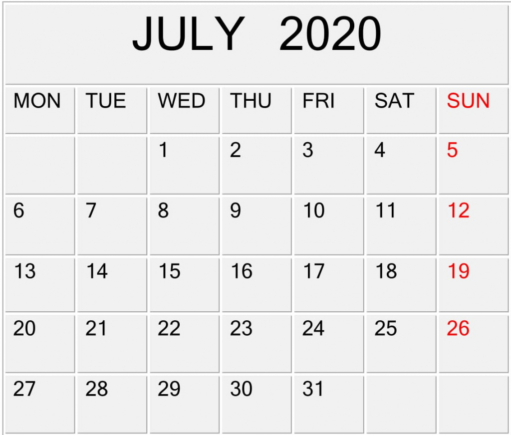 july 2020 calendar template for word pdf and excel free aol calendar template