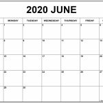 June 2020 Calendar Free Printable Monthly Calendars 2020 Printable Calendar By Month