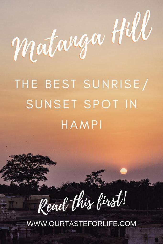 matanga hill best sunset spot in hampi hampi best find printable sunrise sunset guide