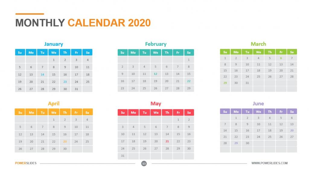 monthly calendar 2020 download now powerslides aol calendar template