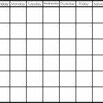 Printable 6 Week Calendar Printable 2 Week Calendar Planner 6 Week Template
