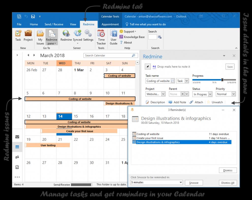 redmine outlook add in plugins redmine microsoft works kalender