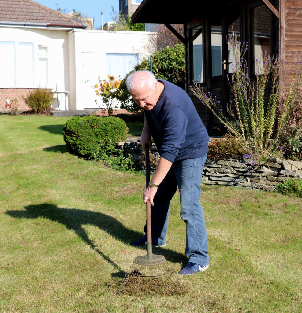 scottish artist and his garden renovate lawns scots october lawn schedule