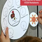 Telling Time From Sunrise To Sunset Stem Worksheets With Find Printable Sunrise Sunset Guide