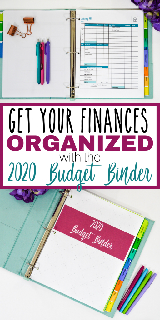 the 2020 budget binder is here the simply organized home budget binder free printables 2020