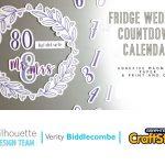 Wedding Countdown Calendar Fridge Magnet Silhouette Uk Blog Wedding Countdown Calendar Images Templates