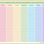 Weekly Calendar With Hours Printable Calendar Inspiration Calendar With Hours