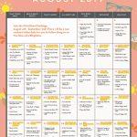 Your August Workout Calendar Blogilates Blogilates August 2020 Challenge
