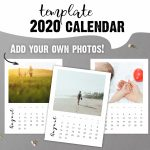 2020 Calendar Template Printable Blank Calendar Pages With Create My Own Printable Calendar