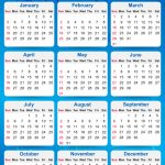 2020 Yearly Calendar Printable 10 Year Calendar From 2020