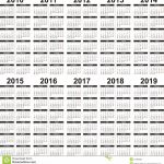 5 Year Calendar 5 Year Calendar Calendar Photo Calendar Calendar 5 Year