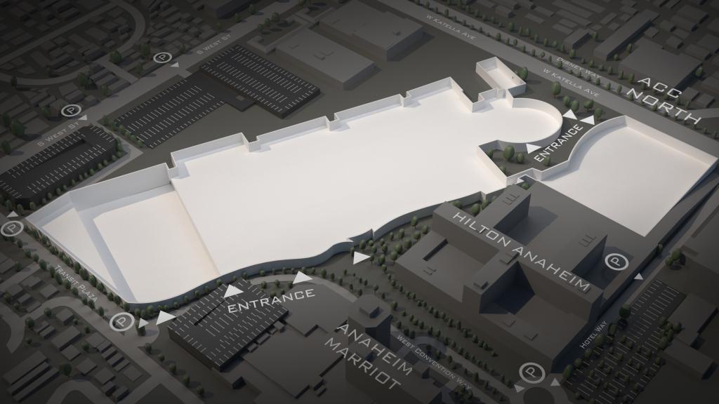 anaheim convention center floor plan anaheim convention center calendar 2020