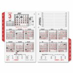 At A Glance Burkhardts Day Counter Calendar Aage7125016 Calendar With Day Counter