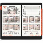 At A Glance Burkharts Day Counter Desk Calendar Refill 4 12 X 7 38 White 2020 Calendar With Day Counter