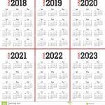 Bilderesultat For 5 Year Calendar Calendar Five Years Out