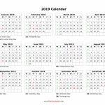 Blank Calendar 2019 Free Download Calendar Templates Blank Calendar Starting With Monday The 1