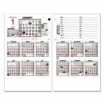 Burkharts Day Counter Desk Calendar Refill 4 12 X 7 38 White 2020 Day Counter For Calendar 1
