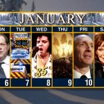 Calendar Week Of January 6 Cbs Weekly  Calendar