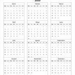 Calendario 2020 En Blanco Para Imprimir 2020 Imprimir Calendar Five Years Out
