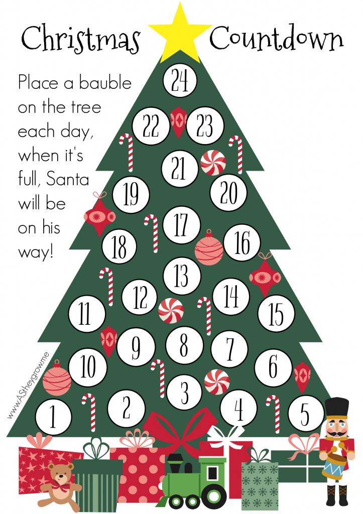 crafty christmas countdown free printable as they grow countdown to christmas 2020 printable