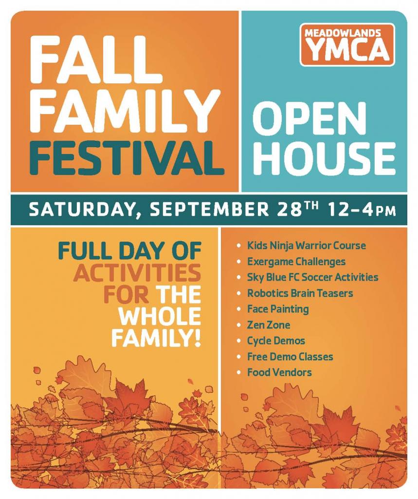 fall family festival open house meadowlands ymca meadowlands free market calendar