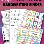 Handwriting Binder 450 Pages Sarah Titus From 5 Year Daily Calendar 2020 2023 For Lawyers Printable