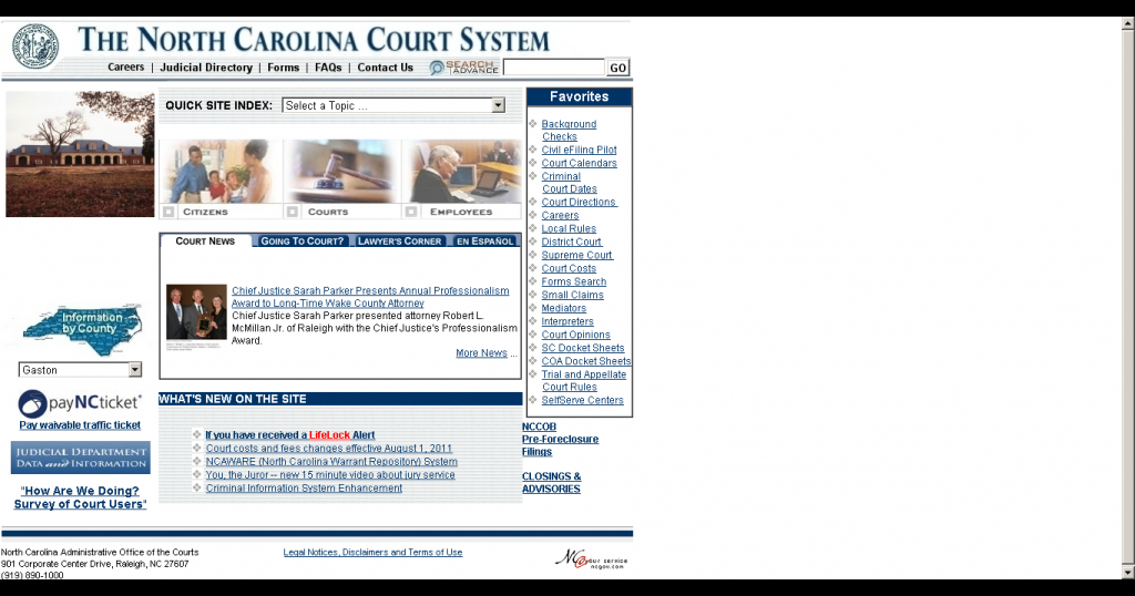 How Do I Find My Court Date If I Dont Have My Ticket North Carolina Court Dates