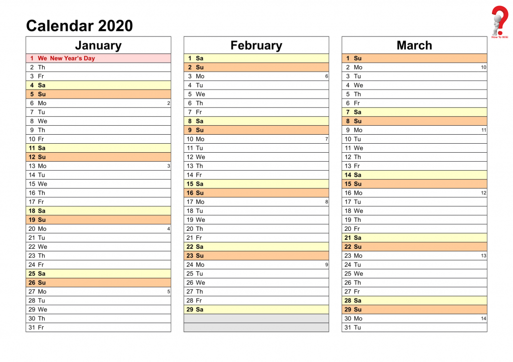 How To Make A Printable Yearly Planner Template 2019 2020 Organiser Calendar Template