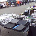 Meadowlands Stadium Flea Market Set Up Secaucus Nj 32815 Meadowlands Flea Market
