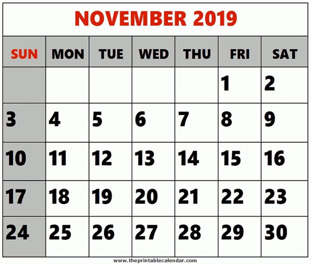 pick 8 x 11 printable calendar november2019 printable 8 by 11 printable calendar