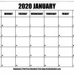 Print 2020 Calendar 11×17 Calendar Printables Free Templates 11 X 17 Printable Calendar 2020 1