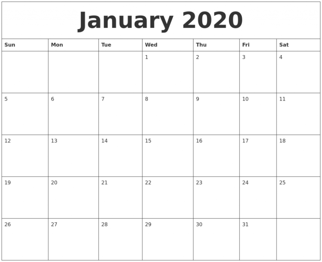 printable 2020 monthly calendars starting with monday calendar starting with monday