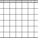 Printable 6 Week Calendar Printable 2 Week Calendar Planner Blank 6 Week Calendar Printable