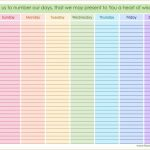 Printable Hourly Schedule Weekly Schedule Printable October Daily Hourly Calender