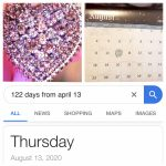 Someone Actually Counted The Diamonds In The Photo And There Caledar Days Counted