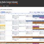 Ua9uax Ham Radio Blog Dl2n Contest Calendar Contest Calendar